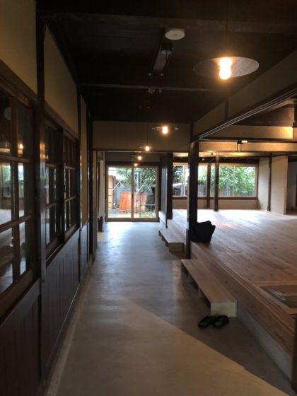 Public space in Miyaki