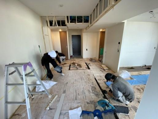 Renovation in Kokura